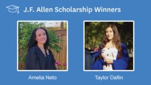 Meet the 2020 J.F. Allen Scholarship Winners!
