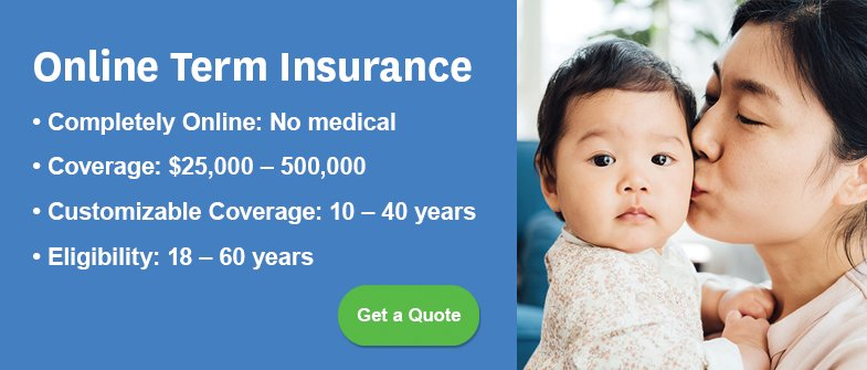 Get a Life Insurance Quote Banner