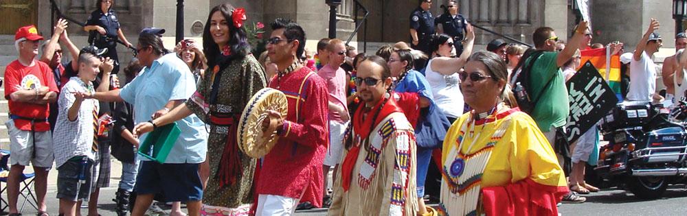 pride two-spirit parade